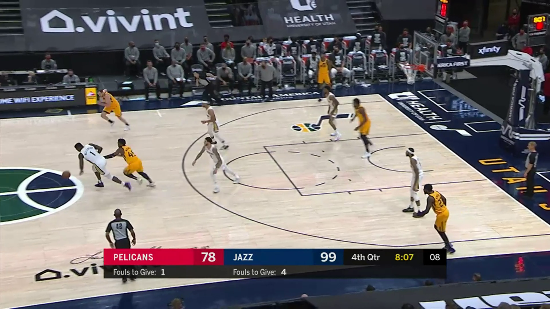 New Orleans Pelicans Highlights vs. Utah Jazz