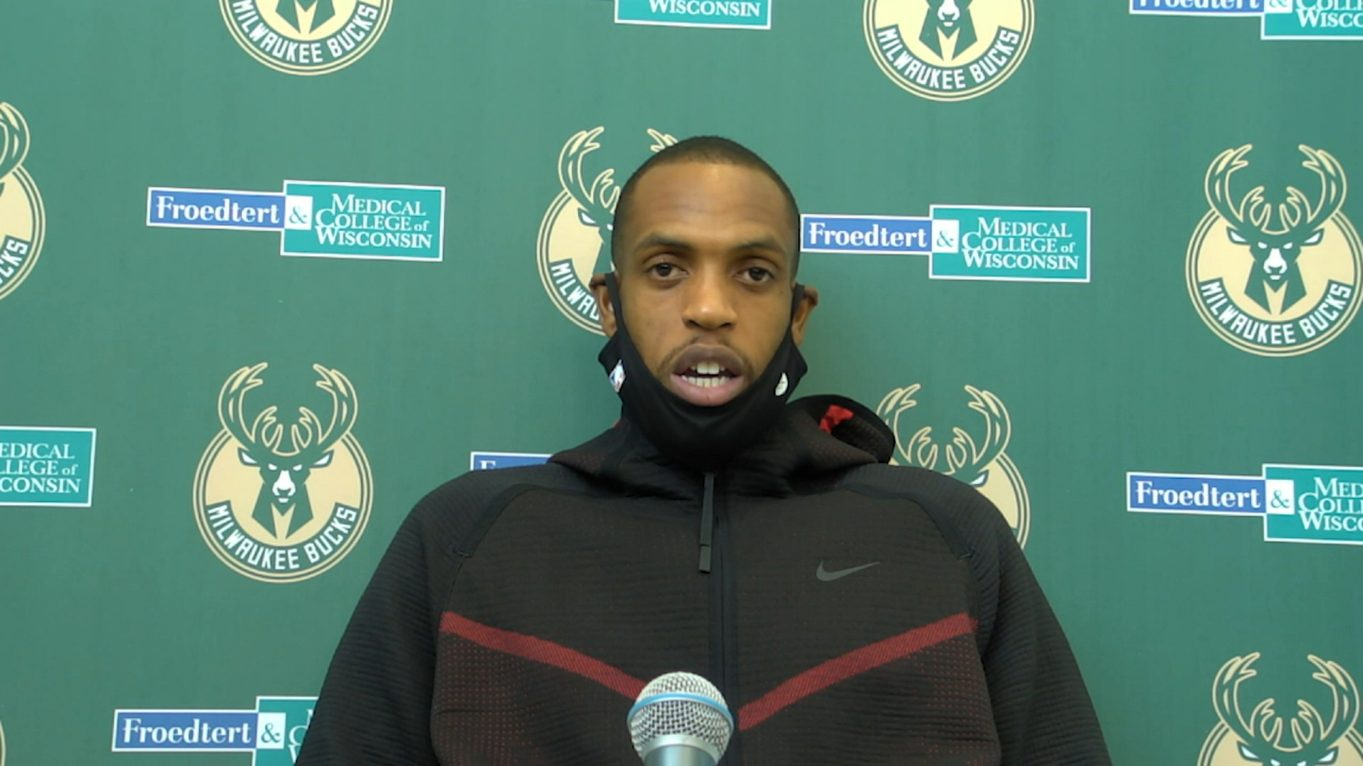 Khris Middleton Press Conference | 1.20.21