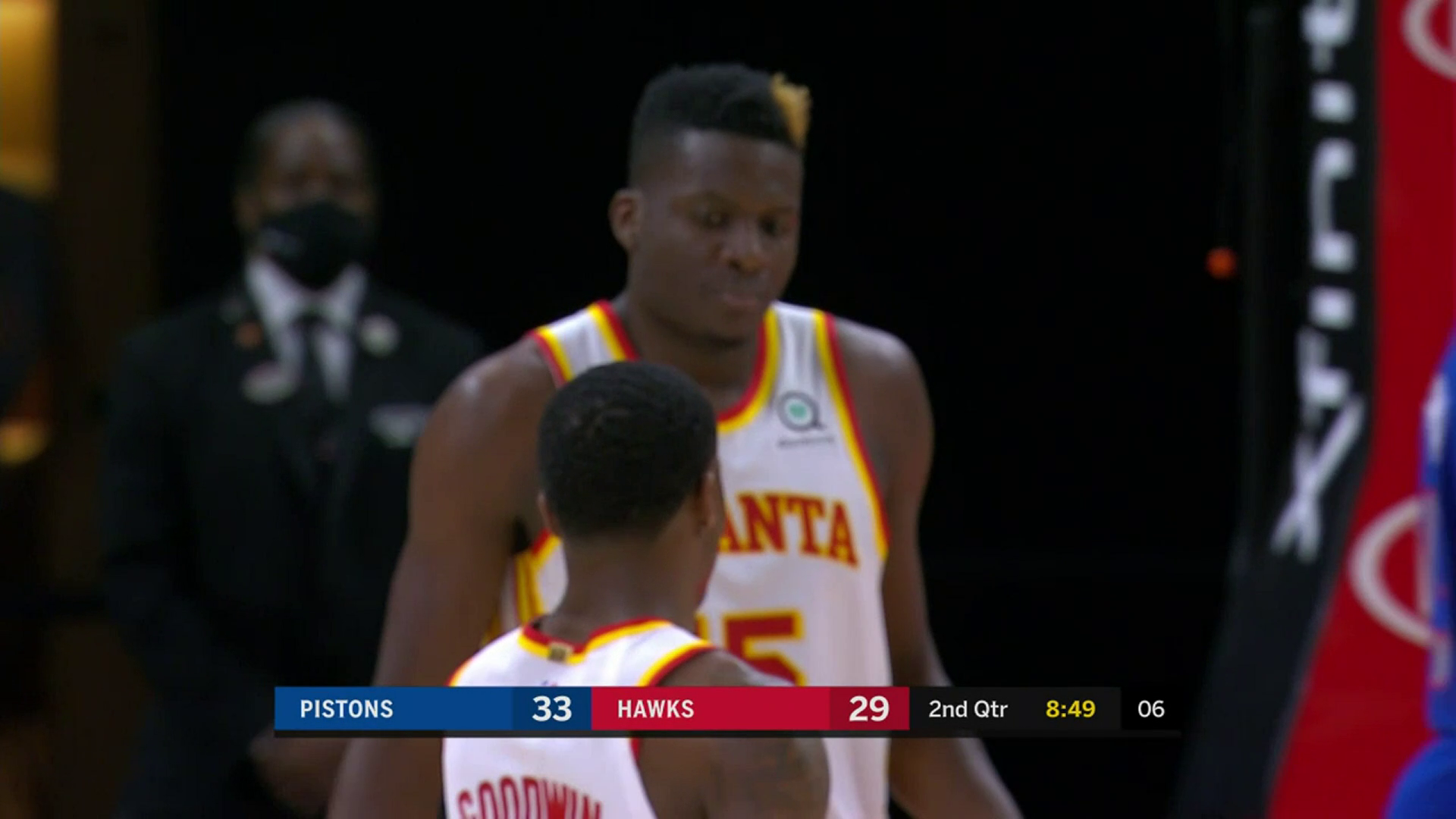 Capela Puts Up Massive Double-Double in Win Over Pistons