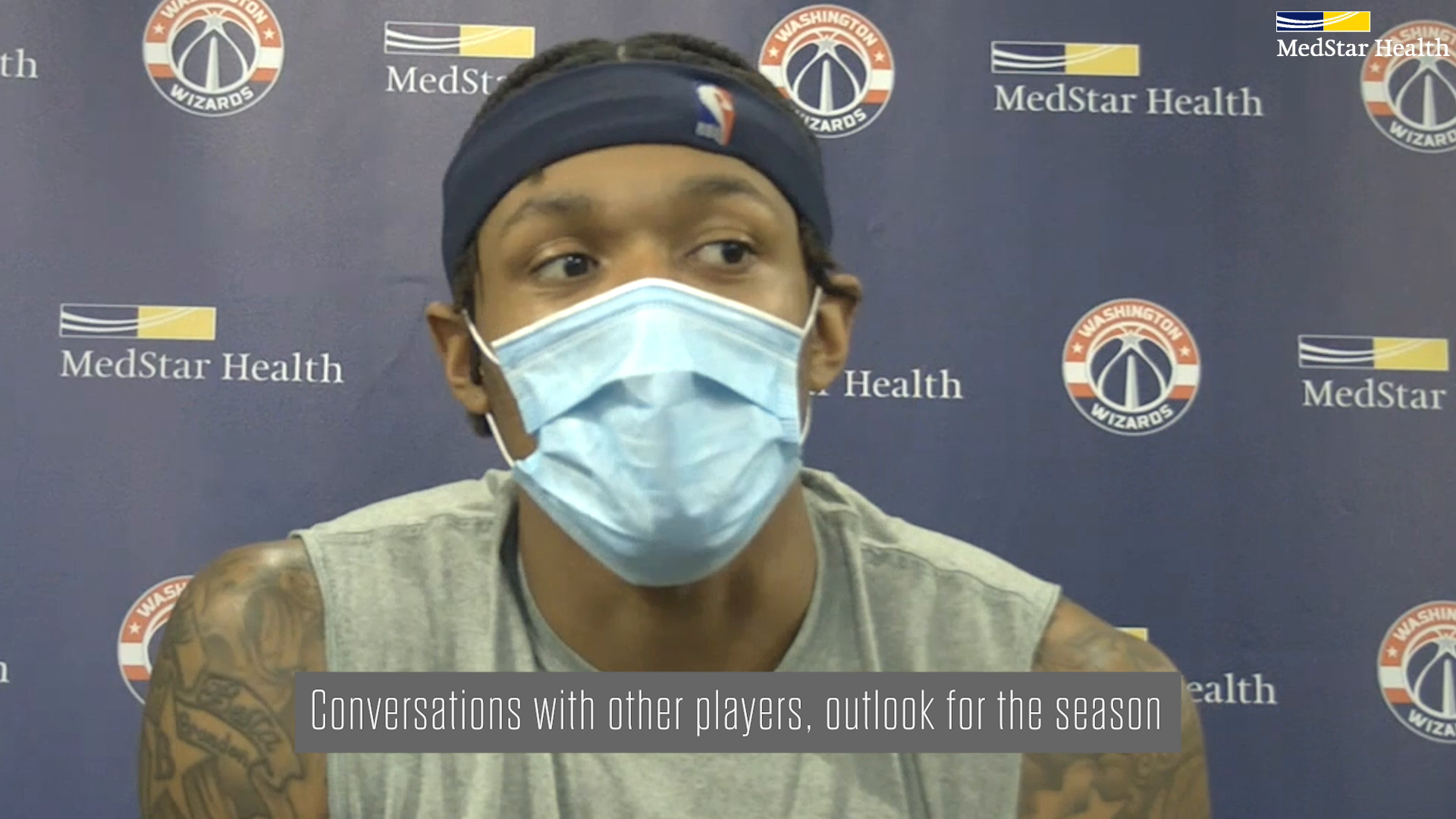Bradley Beal Post-Practice Media Availability - 1/20/21