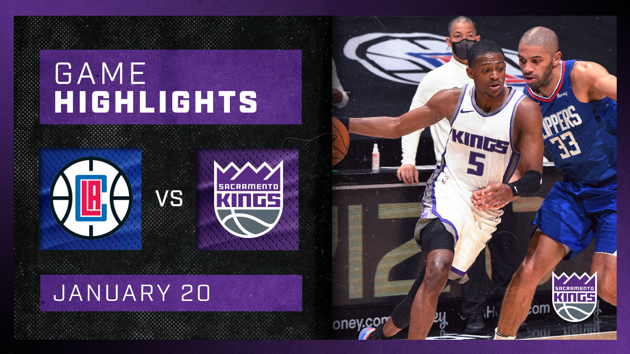Sactown Heads to Staples Center | Kings vs Clippers 1.20.21