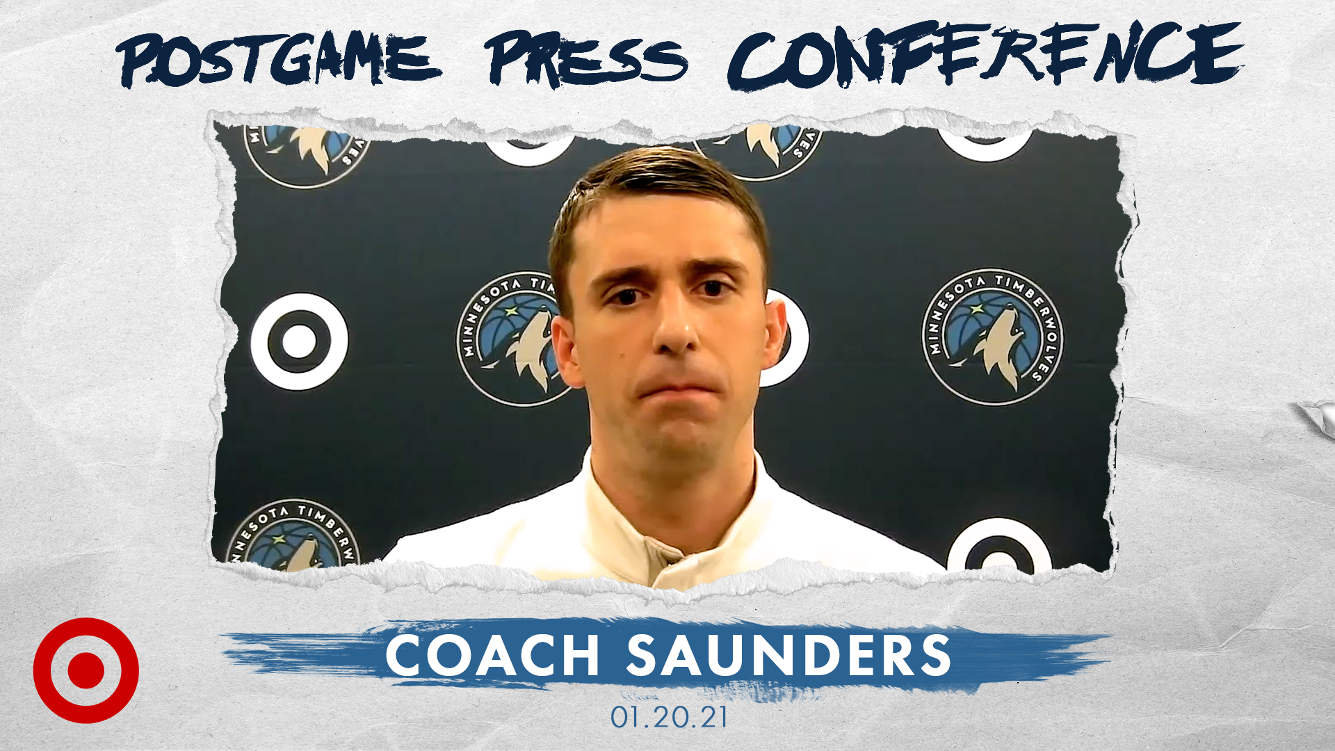 Coach Saunders Postgame Press Conference - January 20, 2021