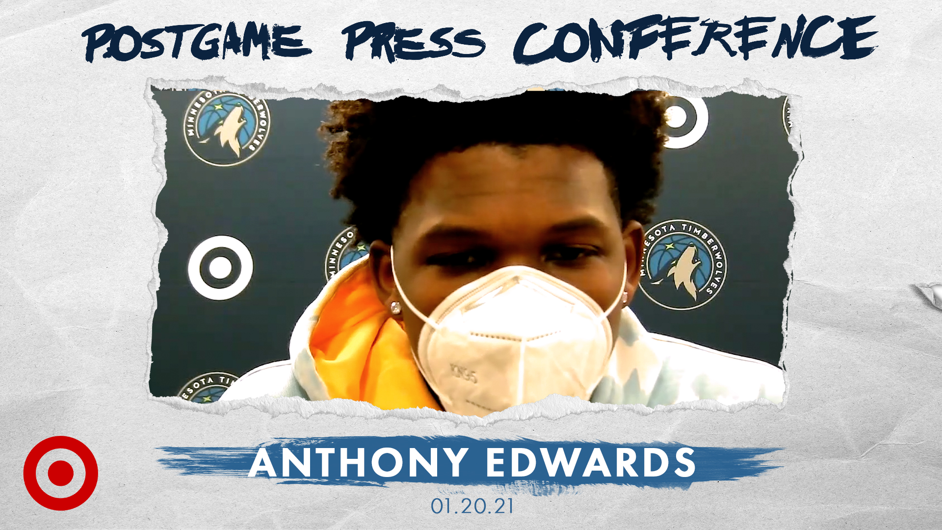 Anthony Edwards Postgame Press Conference - January 20, 2021
