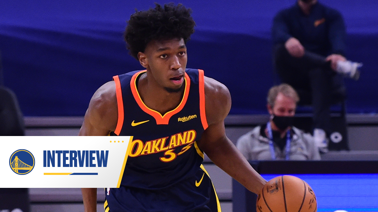 Postgame Warriors Talk: James Wiseman - 1/20/21