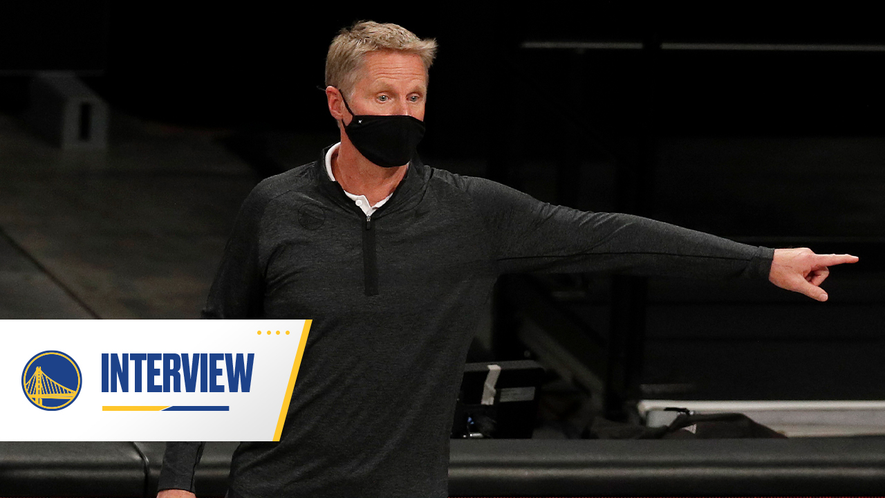 Postgame Warriors Talk: Steve Kerr - 1/20/21