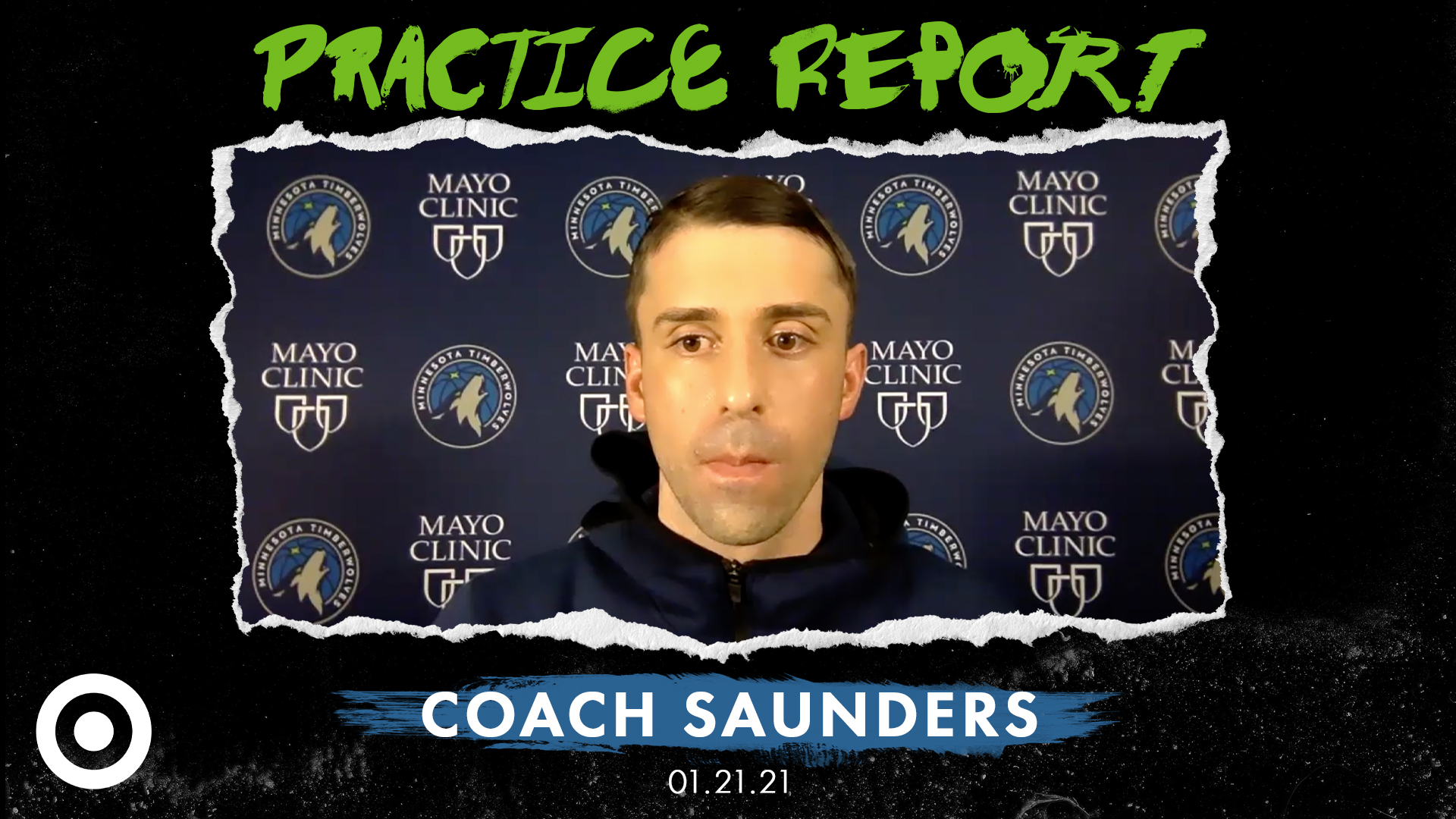 Coach Saunders Practice Report - January 21, 2021