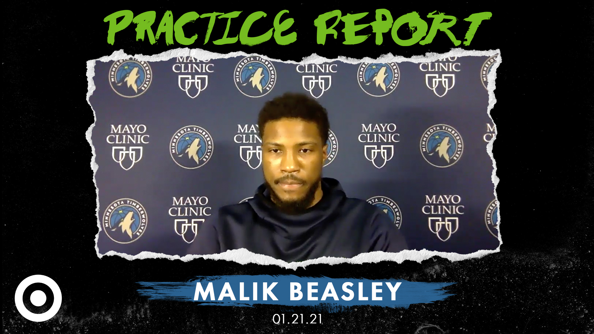 Malik Beasley Practice Report - January 21, 2021
