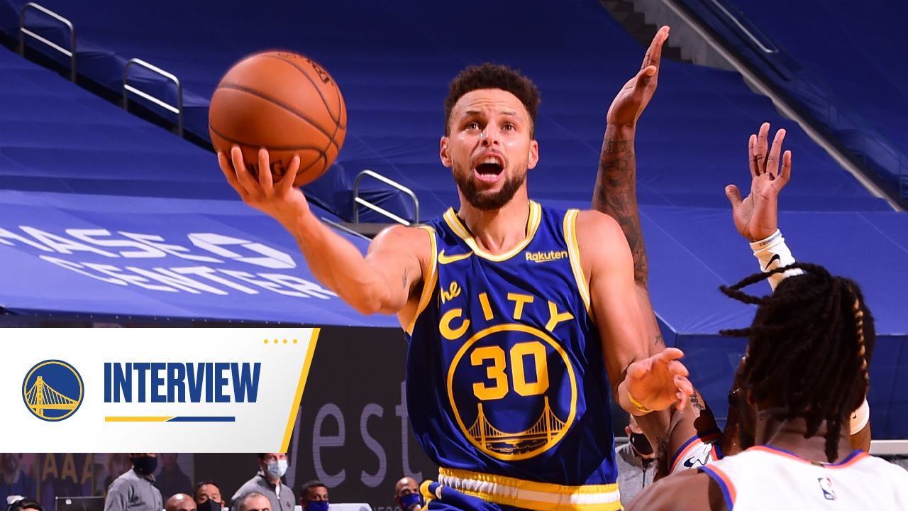 Postgame Warriors Talk: Stephen Curry - 1/21/21
