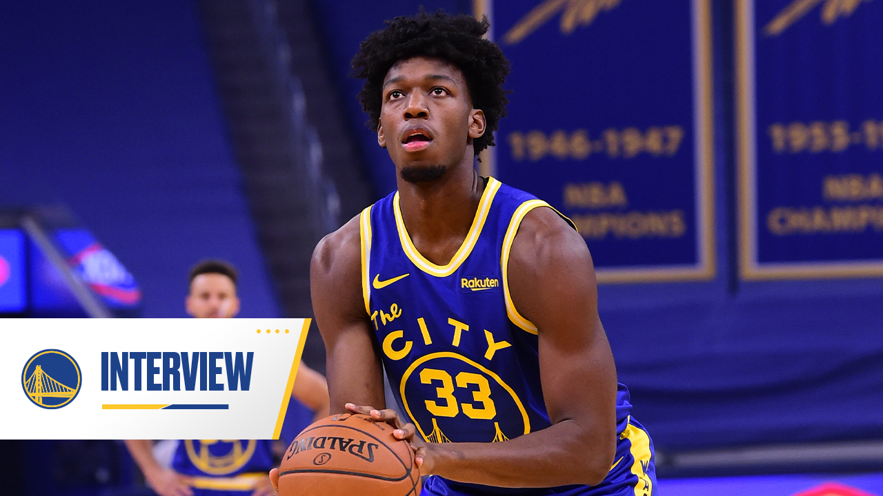 Postgame Warriors Talk: James Wiseman - 1/22/21