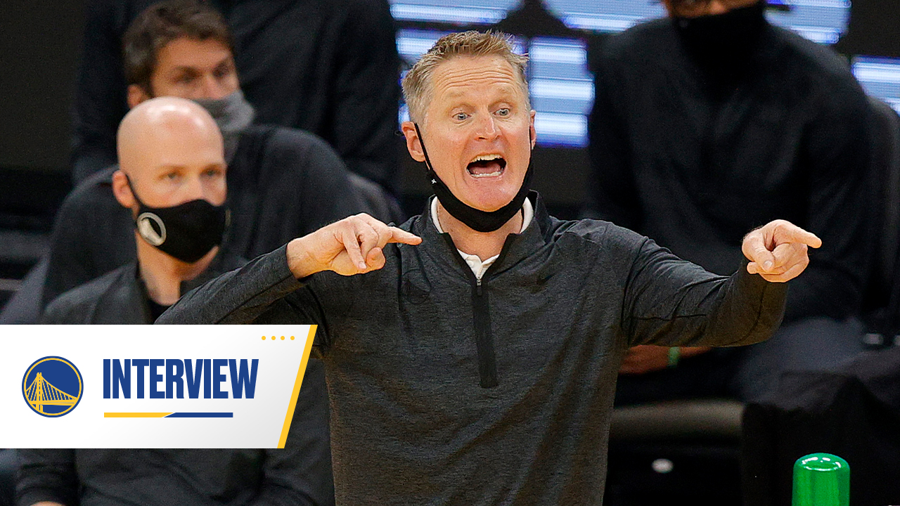 Postgame Warriors Talk: Steve Kerr - 1/21/21