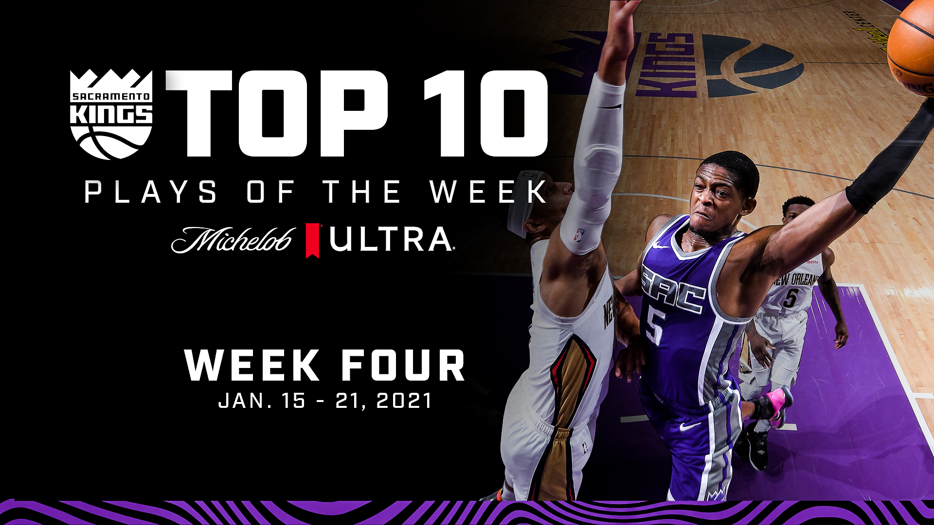 Kings Top 10 Plays of the Week | Week 4