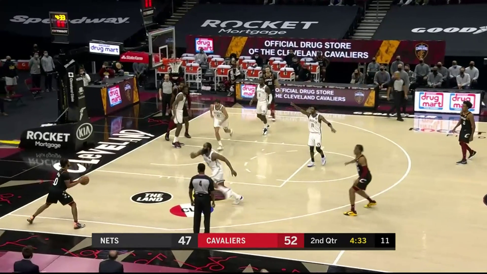 Cavs Show Off Ball Movement to Extend Lead against the Nets