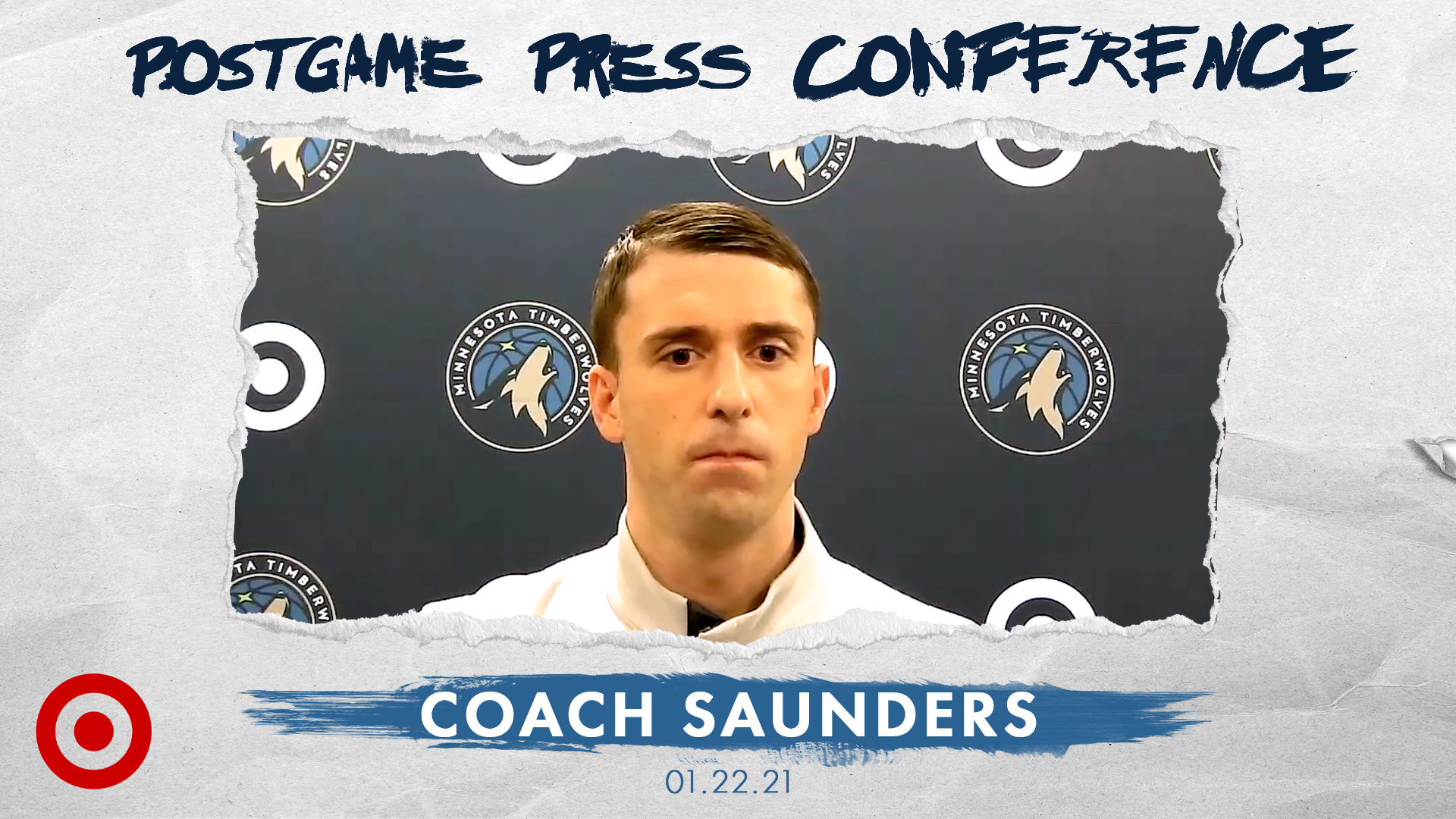 Coach Saunders Postgame Press Conference - January 22, 2021
