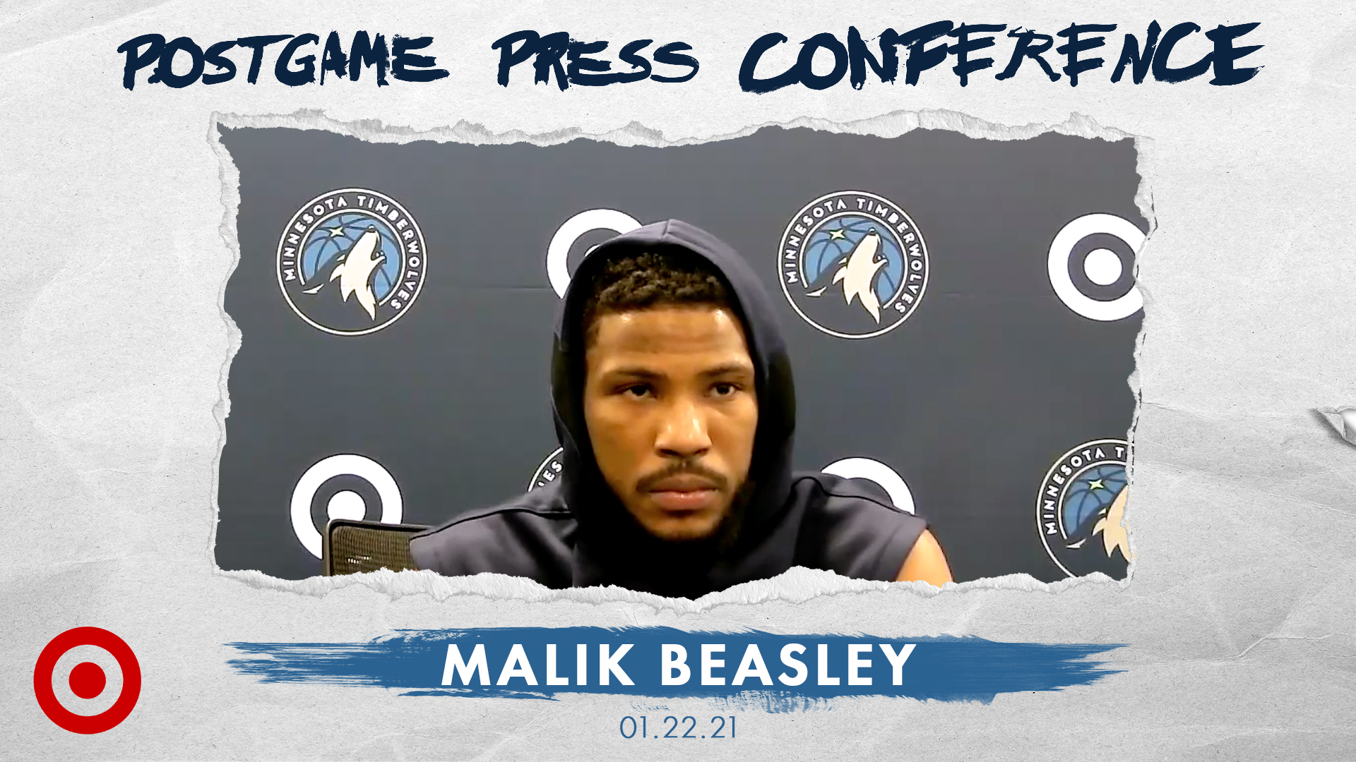 Malik Beasley Postgame Press Conference - January 22, 2021