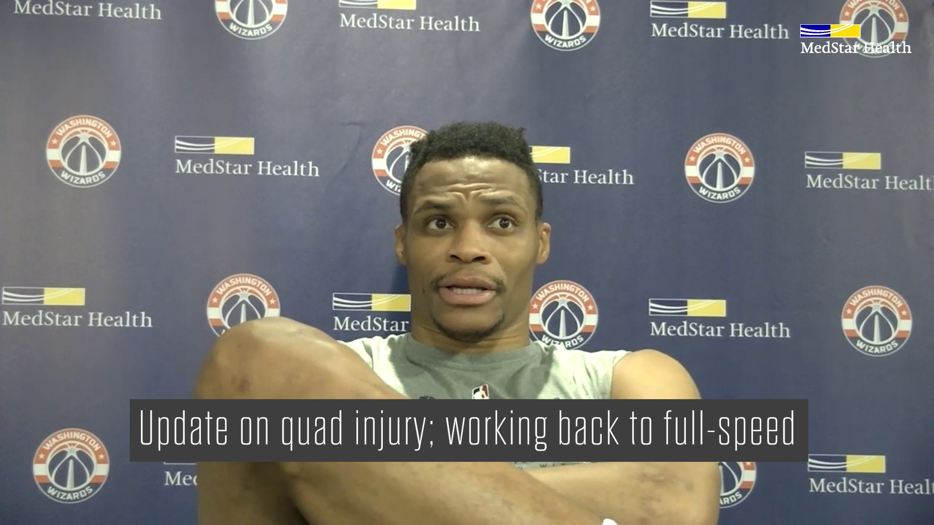 Russell Westbrook Post-Practice Media Availability - 1/23/21