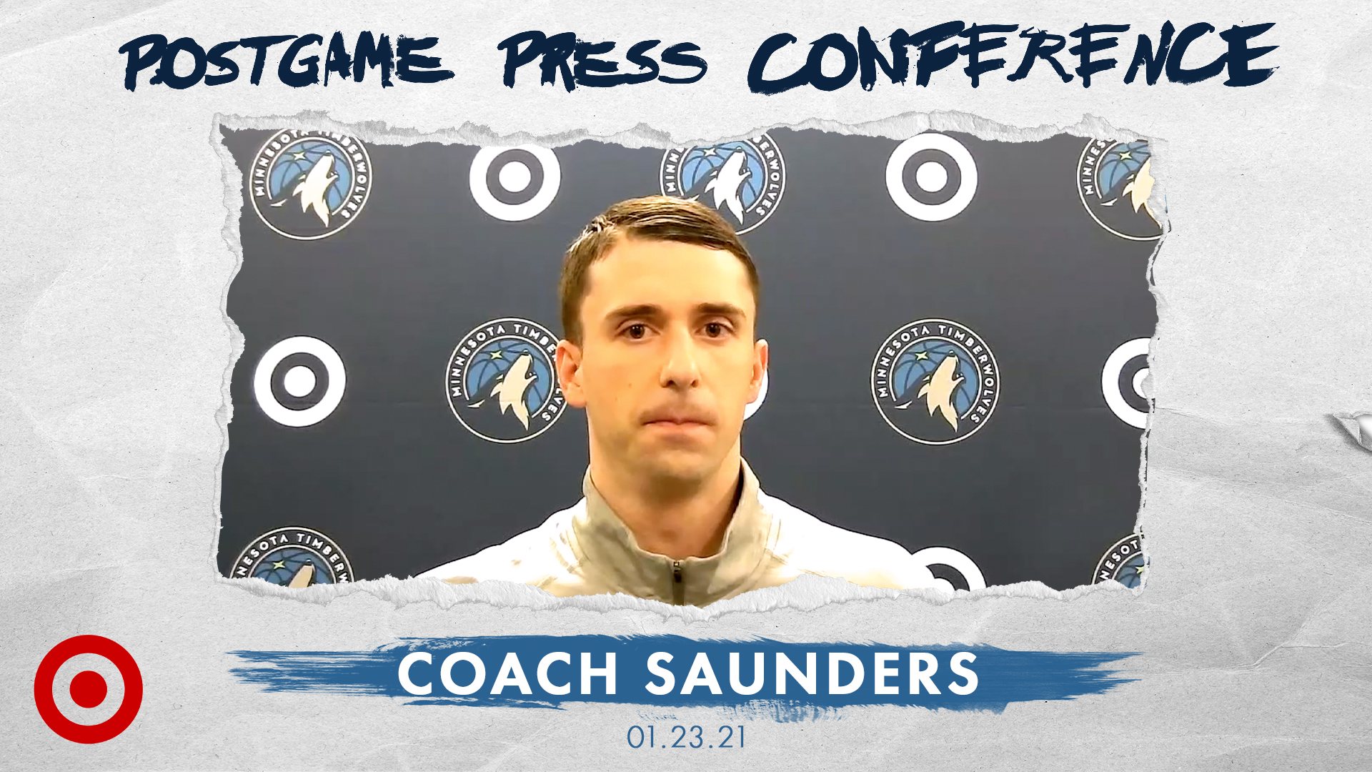 Coach Saunders Postgame Press Conference - January 23, 2021