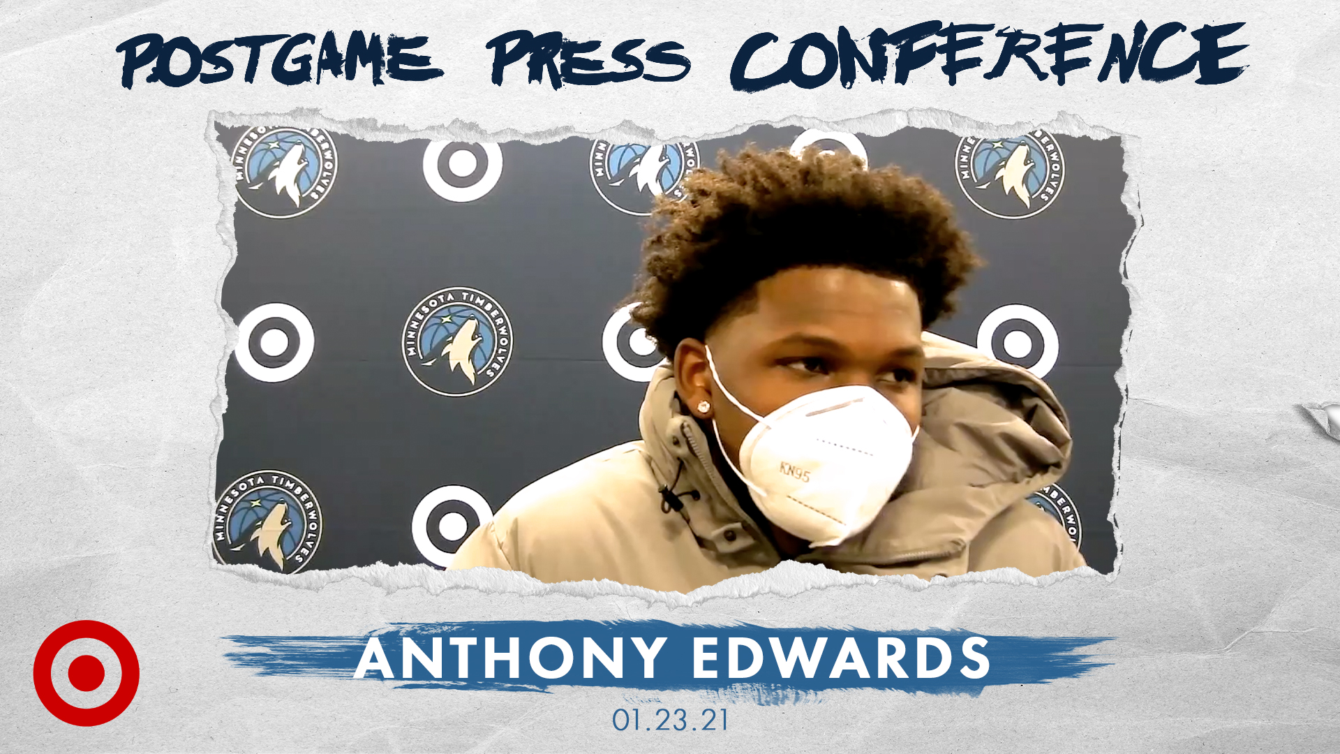 Anthony Edwards Postgame Press Conference - January 23, 2021