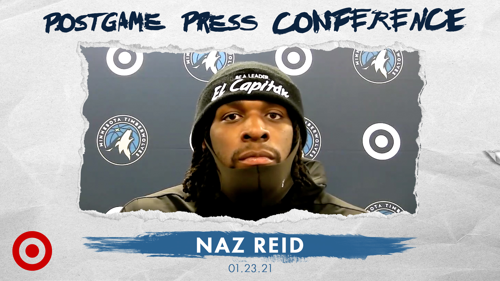 Naz Reid Postgame Press Conference - January 23, 2021