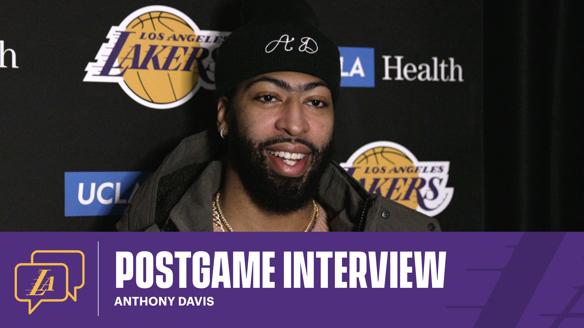 Lakers Postgame: Anthony Davis (1/23/21)