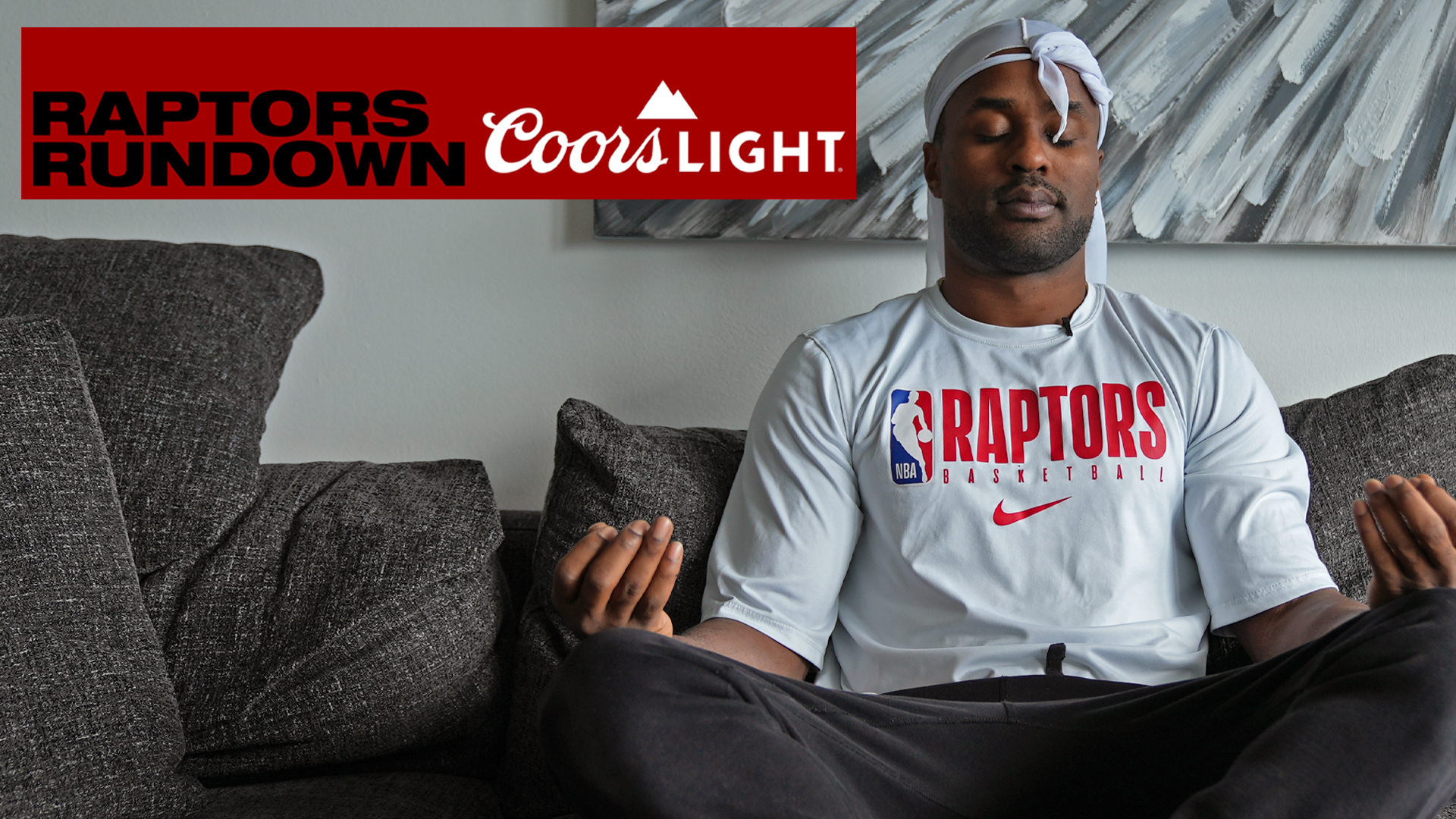 Akil catches up with Chris Boucher | Raptors Rundown pres. by Coors Light