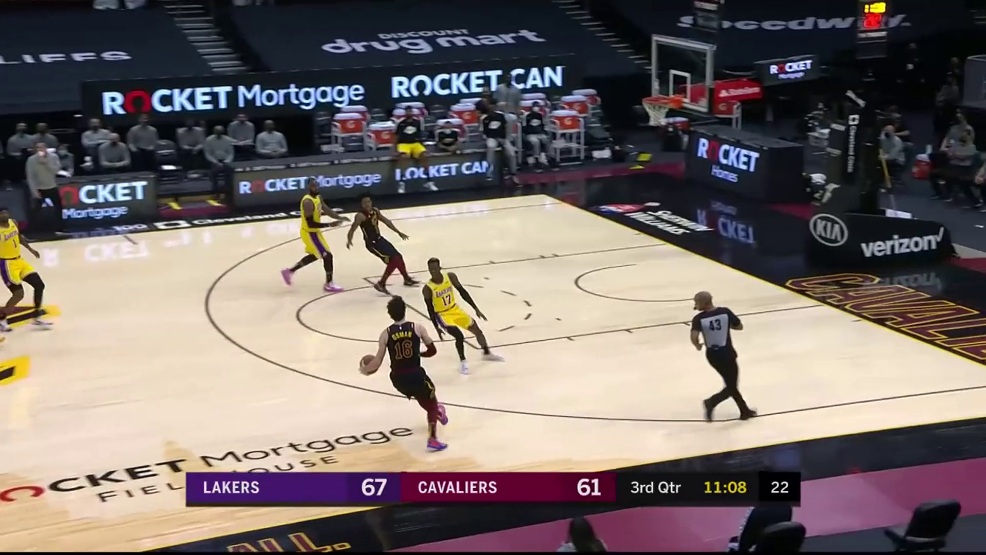 Cedi Starts the Third off with Two Triples