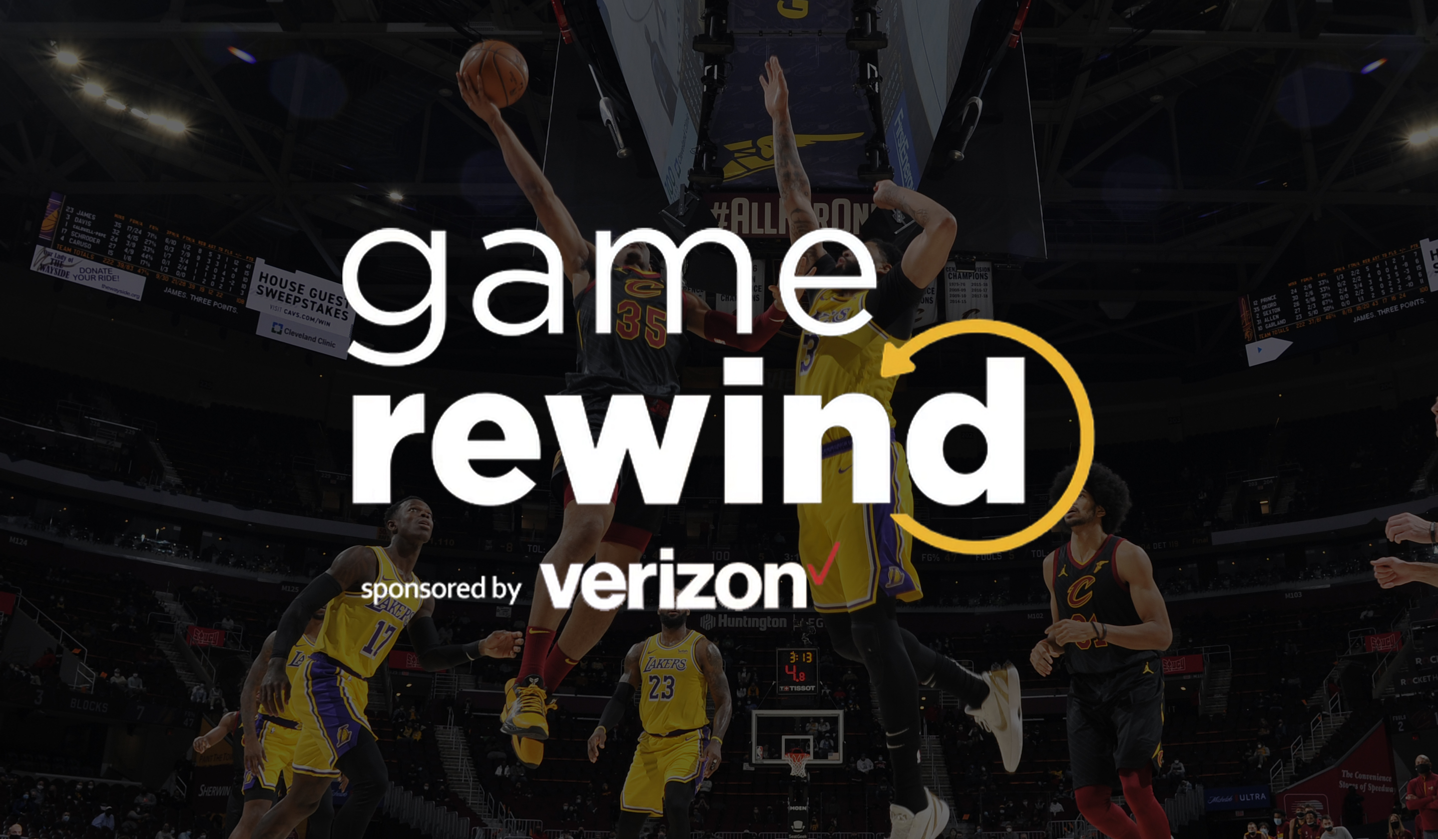 Verizon Game Rewind - Cavs vs Lakers
