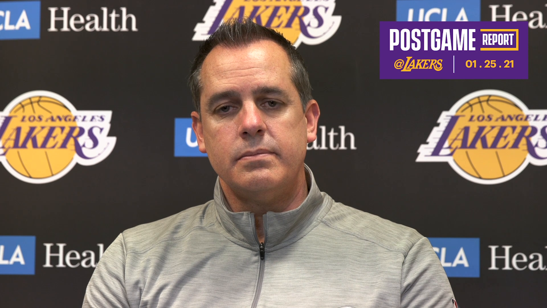 Lakers Postgame: Frank Vogel (1/25/21)