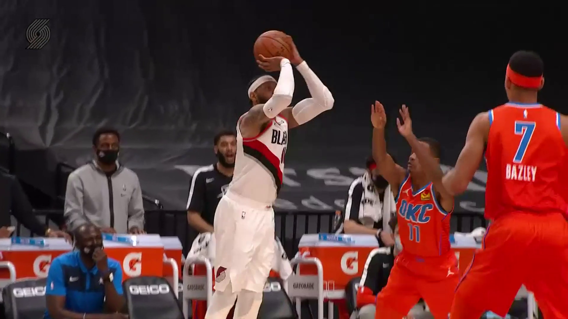 Trail Blazers 122, Thunder 125 | Game Highlights by McDelivery