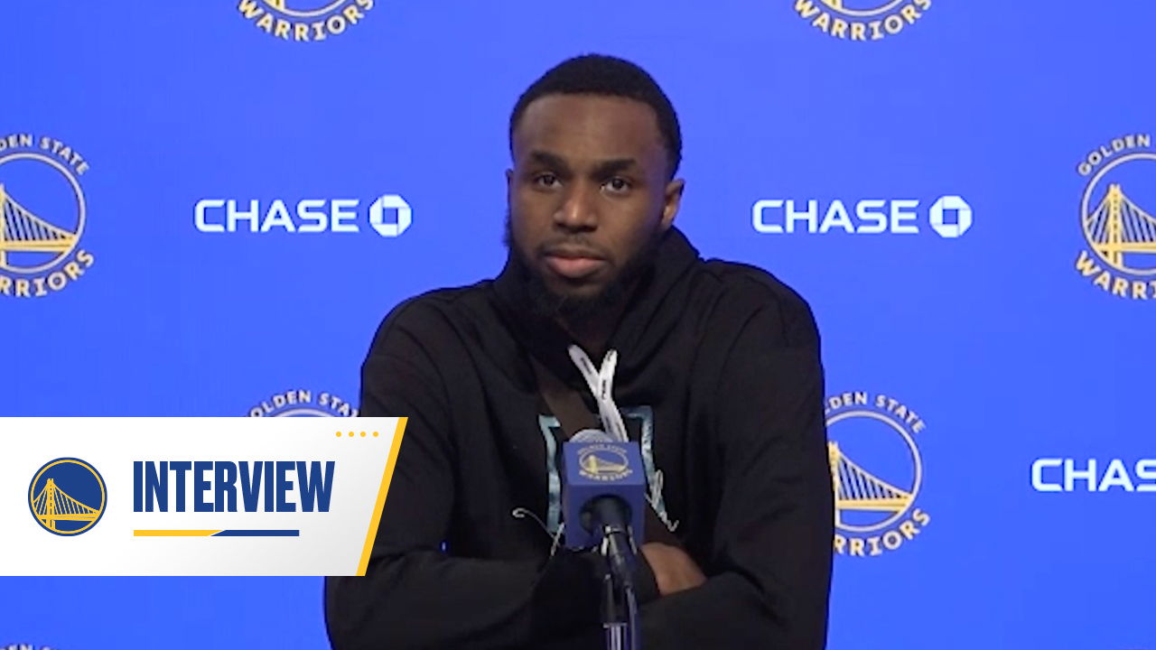 Postgame Warriors Talk: Andrew Wiggins - 1/25/21