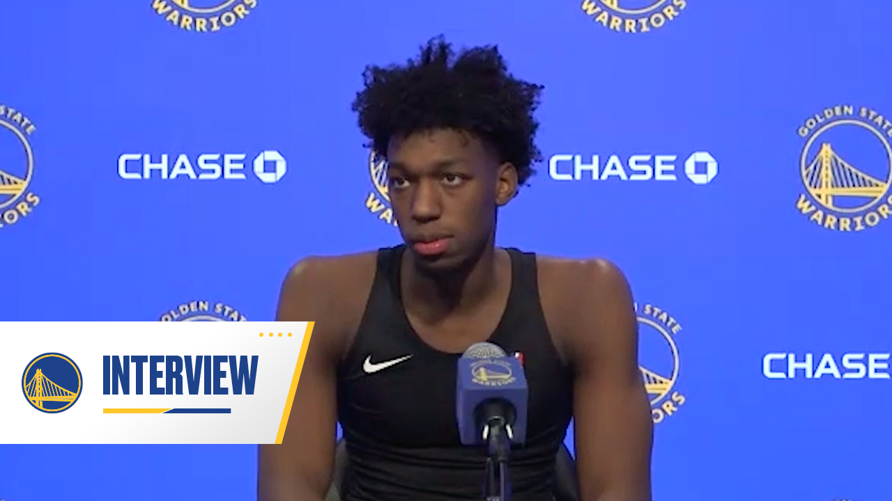 Postgame Warriors Talk: James Wiseman - 1/25/21