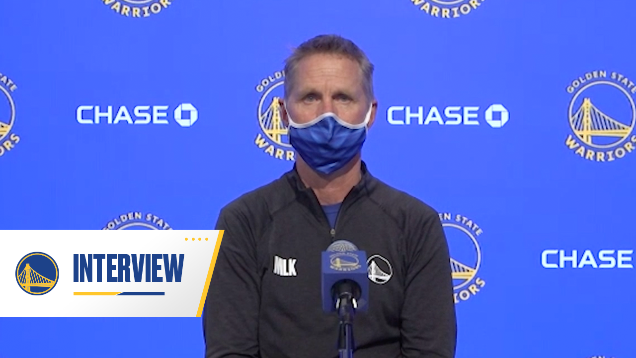 Postgame Warriors Talk: Steve Kerr - 1/25/21