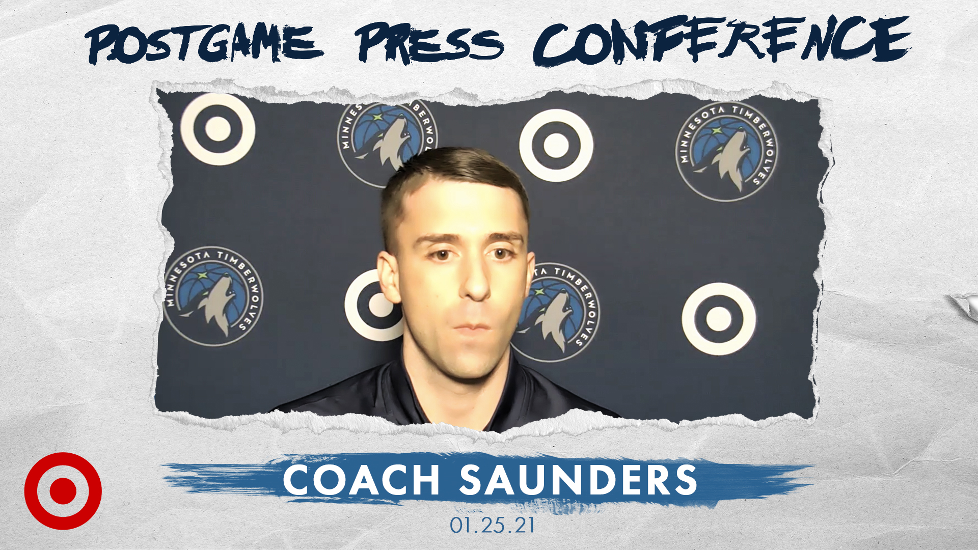 Coach Saunders Postgame Press Conference - January 25, 2021