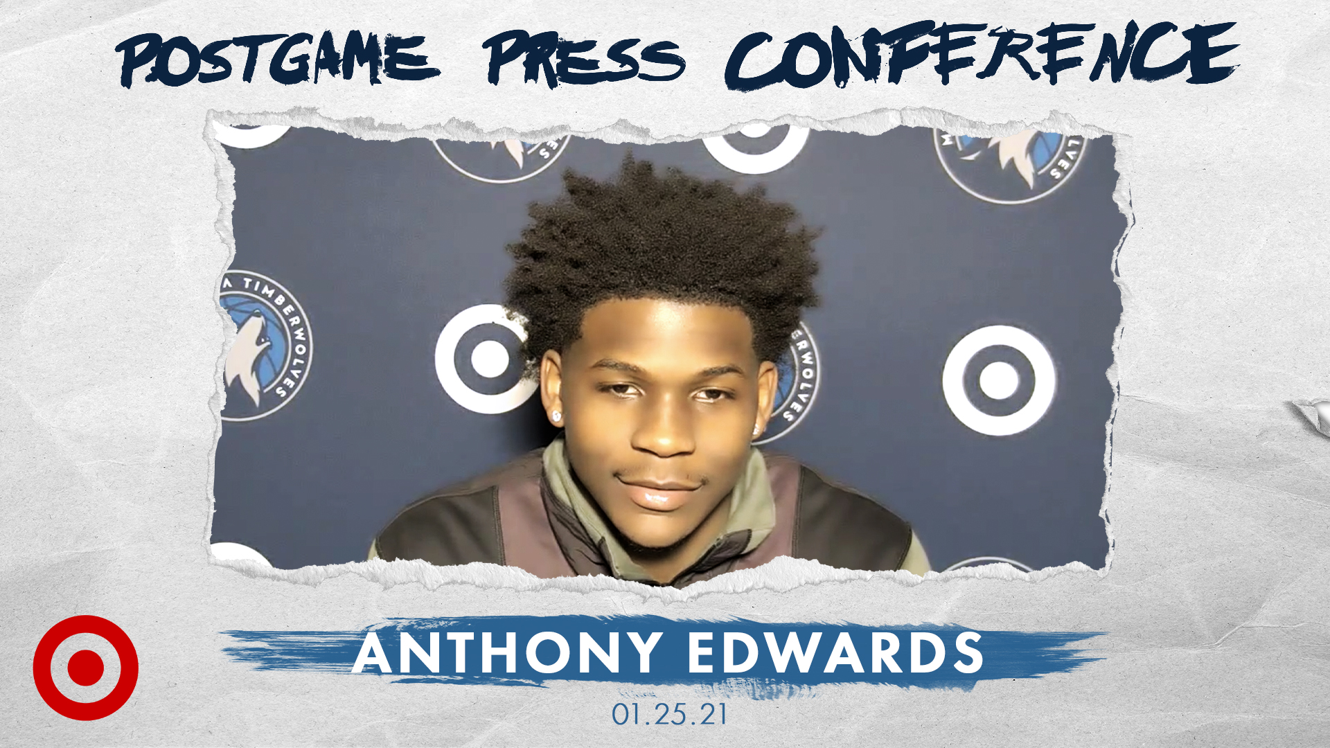 Anthony Edwards Postgame Press Conference - January 25, 2021