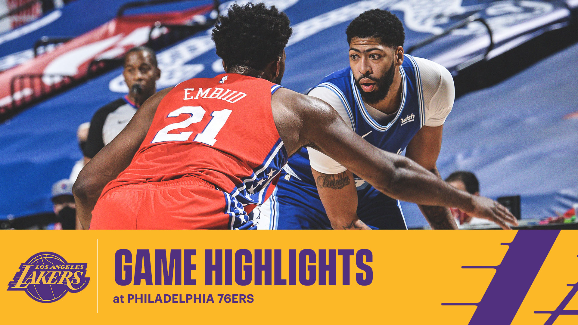 HIGHLIGHTS | Anthony Davis (23 pts, 8 reb, 2 blk) vs Philadelphia 76ers