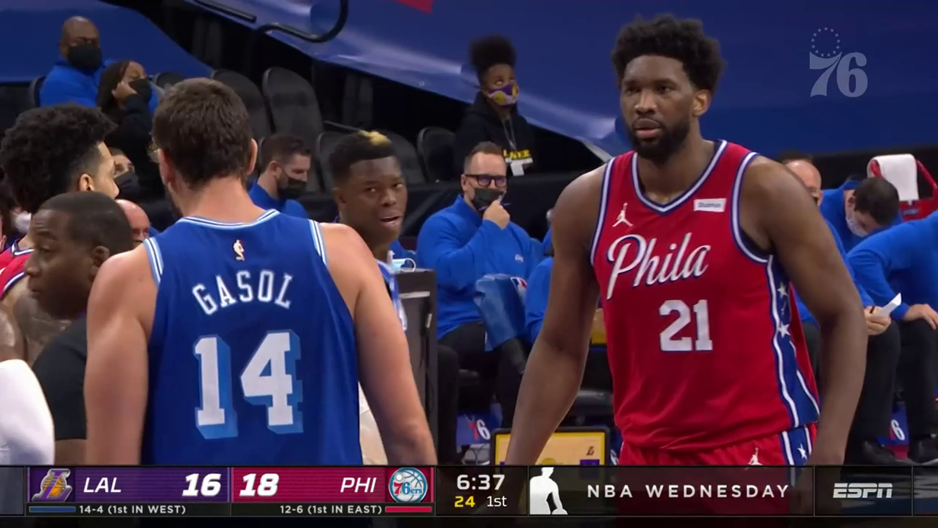 Joel Embiid | Highlights vs Los Angeles Lakers (01.27.21)
