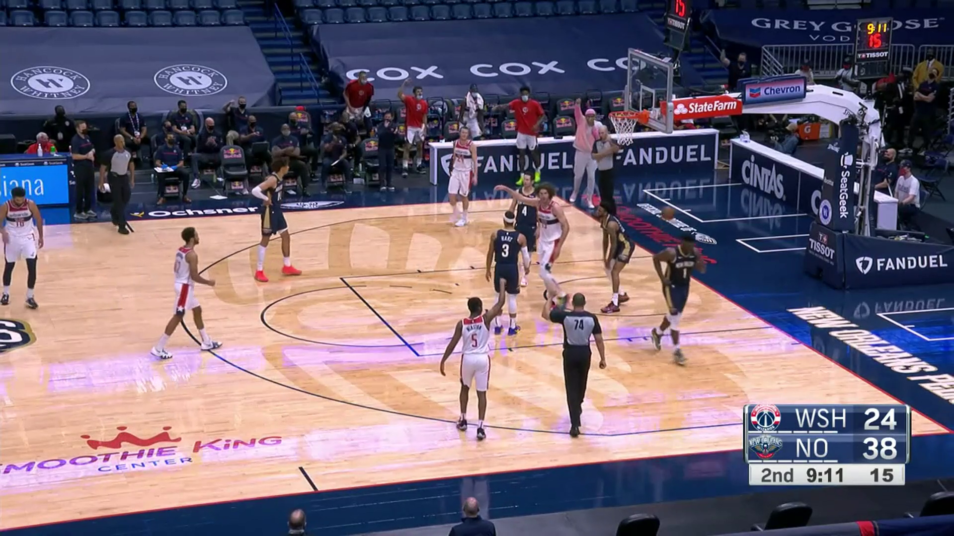 Highlights: Wizards at Pelicans - 1/27/21