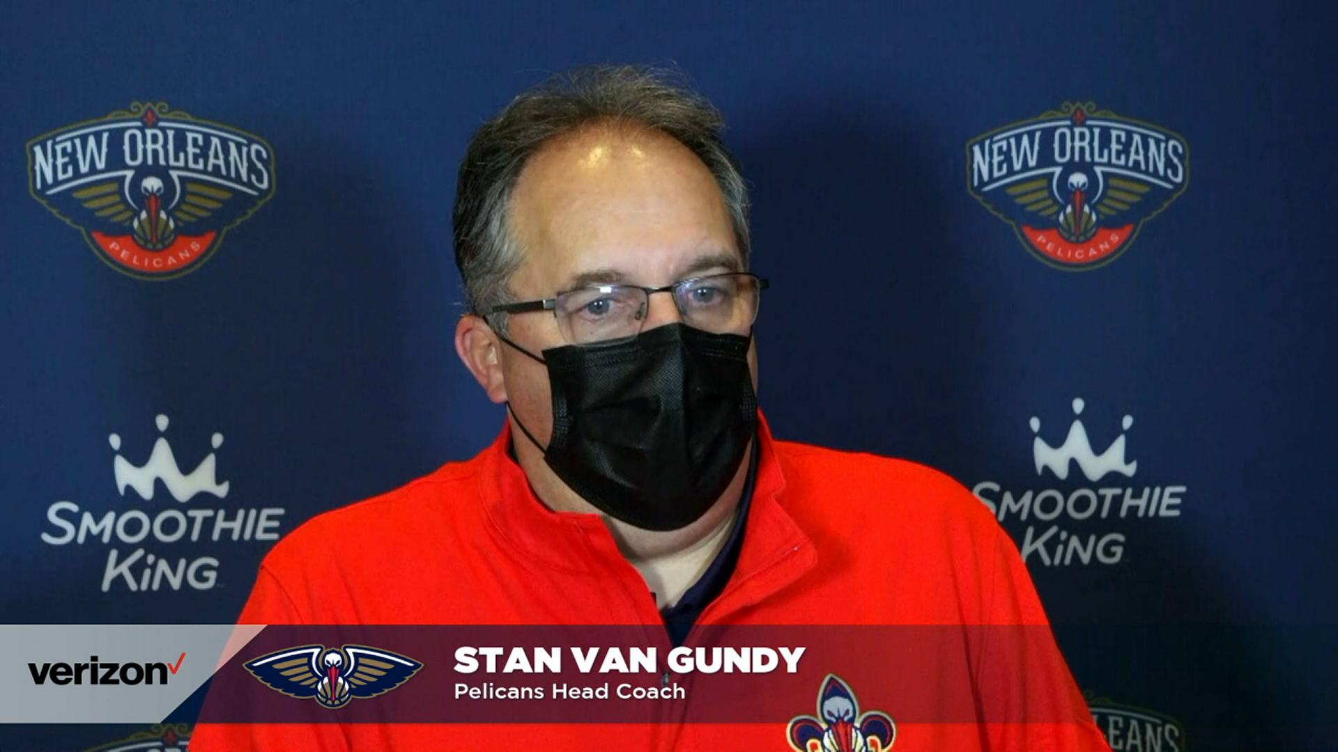 Pelicans-Wizards Postgame Interview: Stan Van Gundy 1-27-21