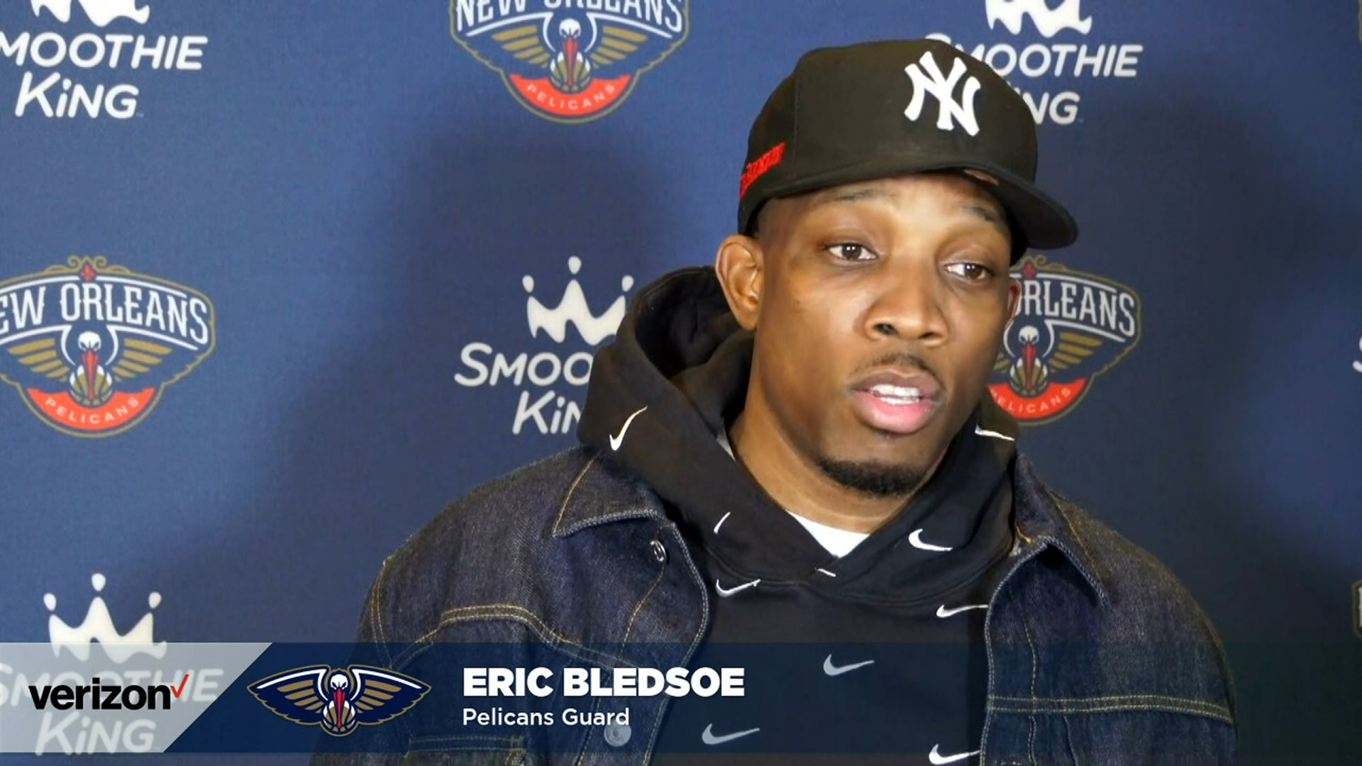 Pelicans-Wizards Postgame Interview: Eric Bledsoe 1-27-21