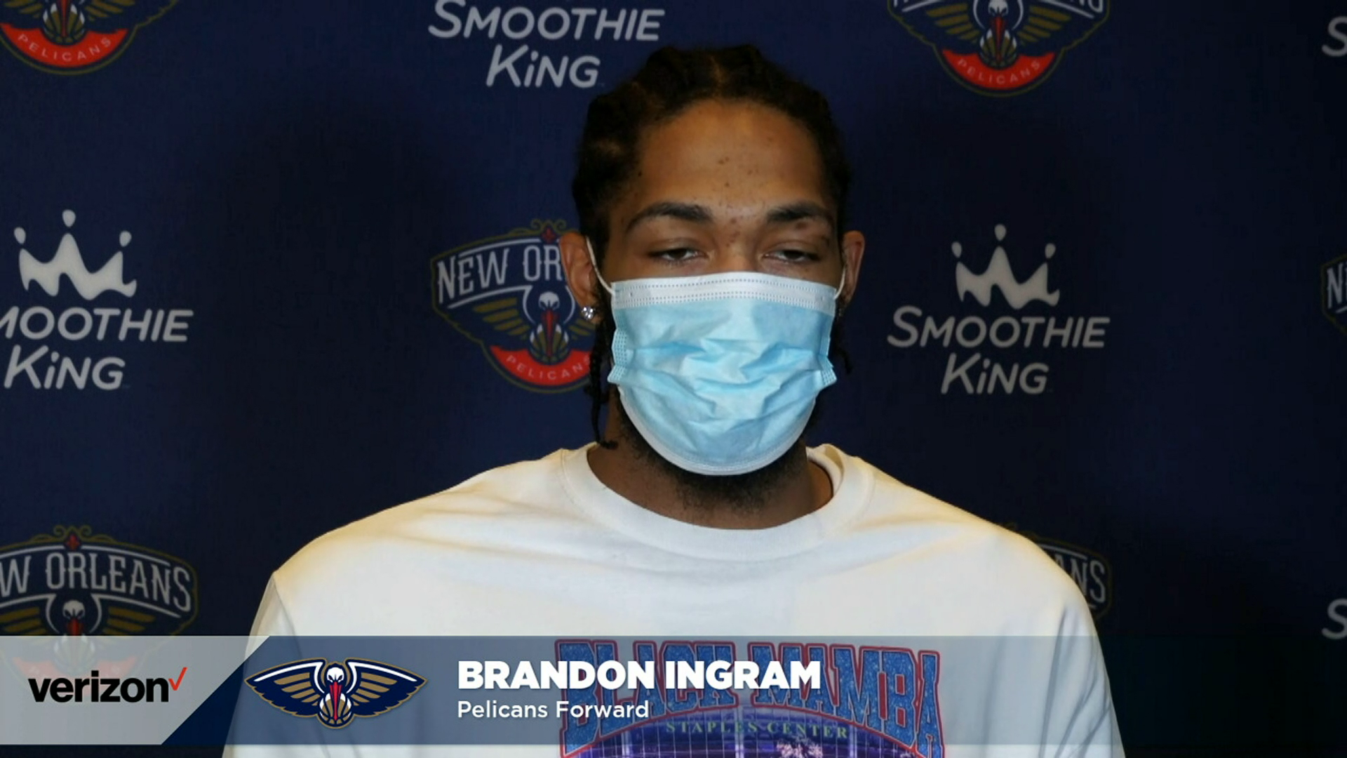 Pelicans-Wizards Postgame Interview: Brandon Ingram 1-27-21
