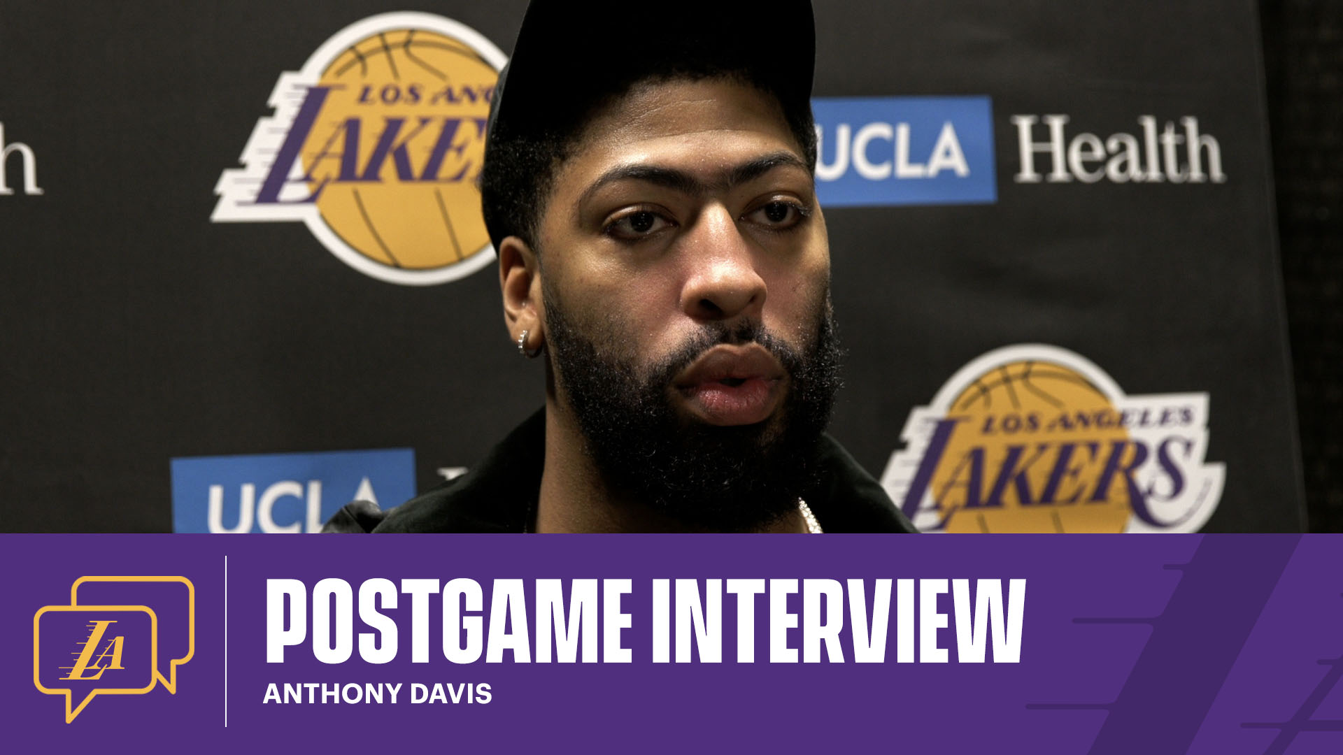 Lakers Postgame: Anthony Davis (1/27/21)