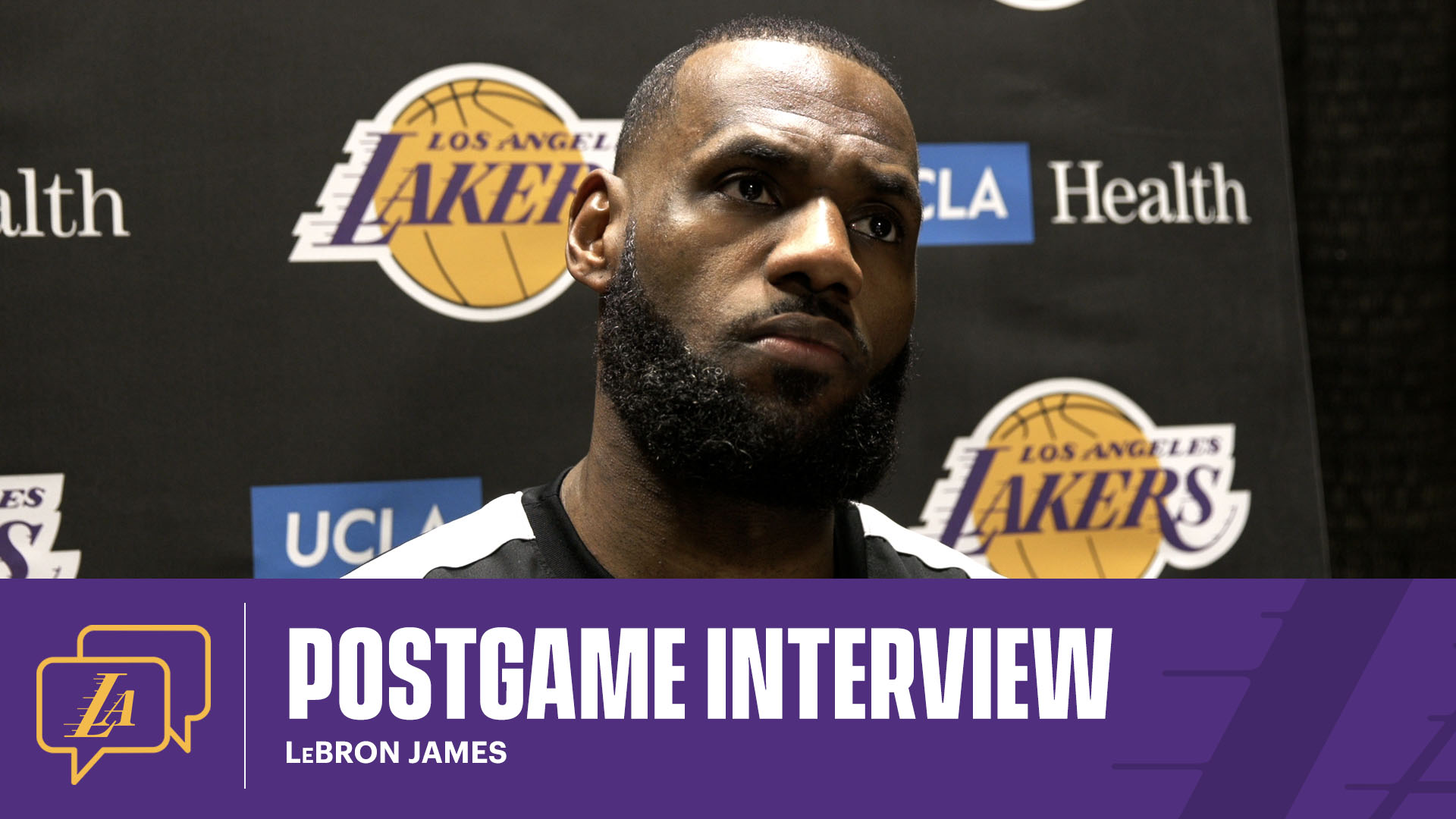 Lakers Postgame: LeBron James (1/27/21)