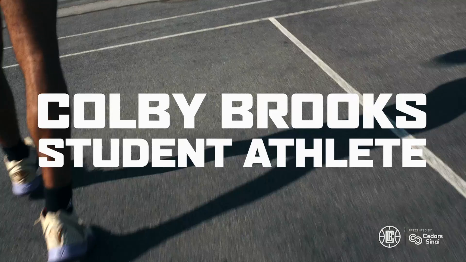 Colby Brooks, Student Athlete