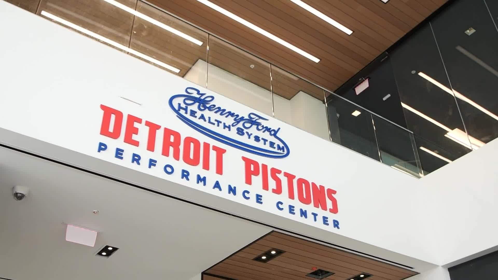 Pistons Fit: Behind the Scenes at the Henry Ford Detroit Pistons Performance Center