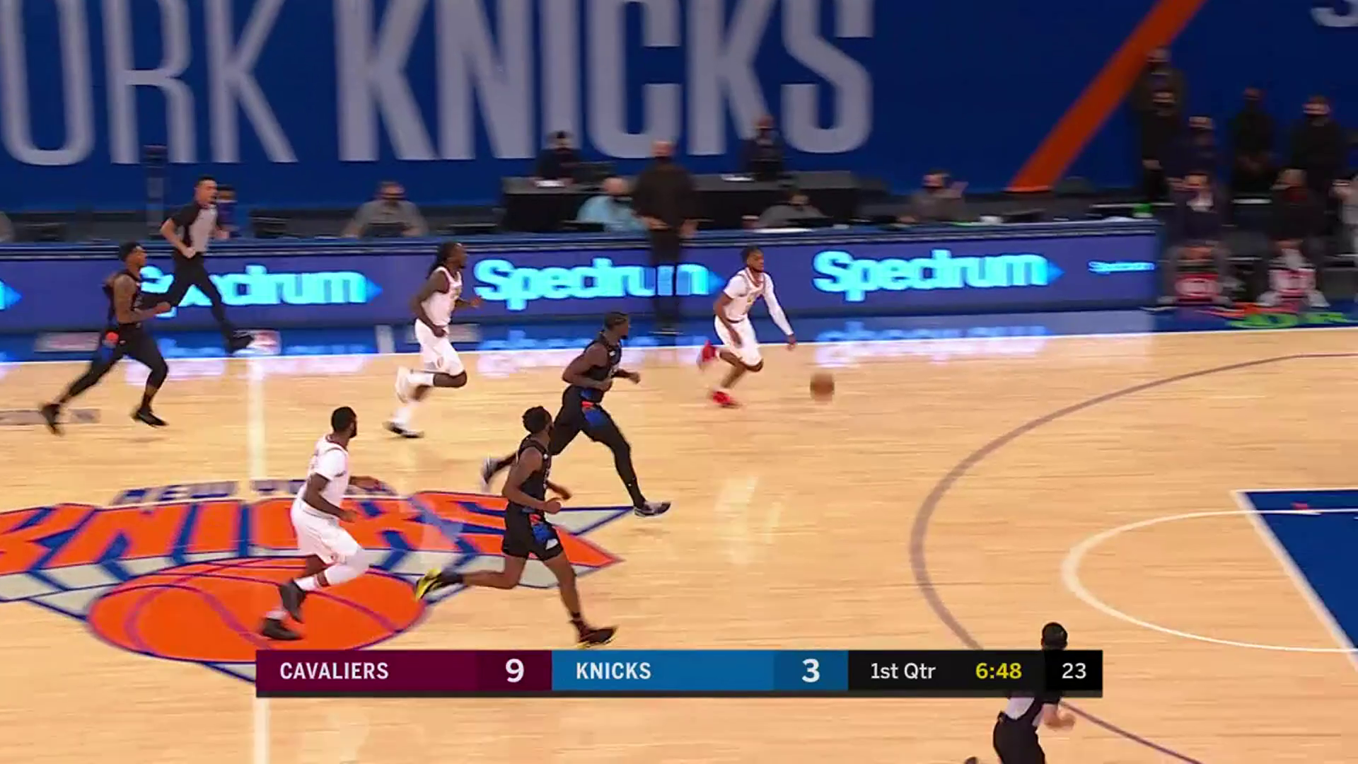 Garland Gets the Steal & Scores