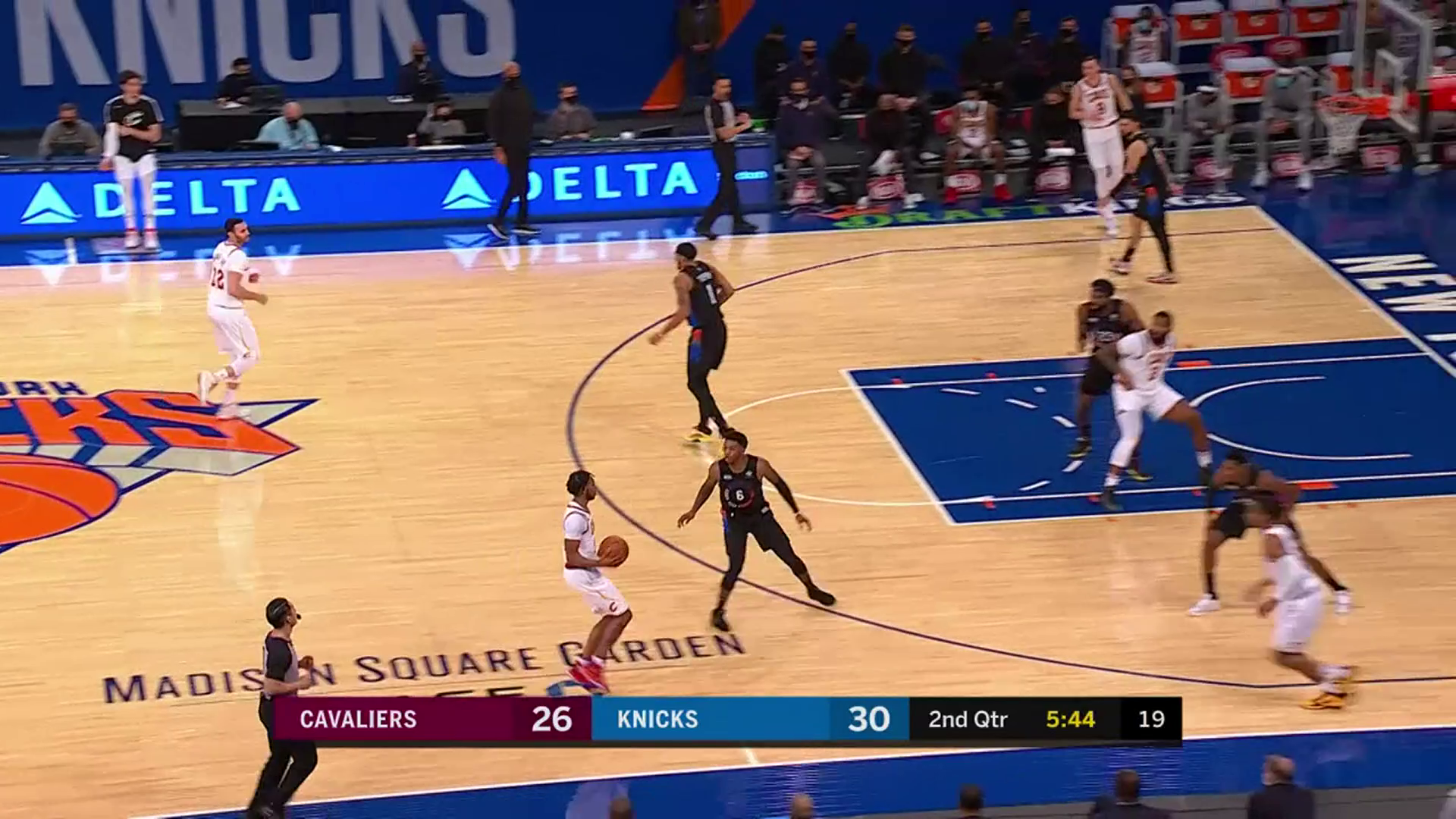 Drummond Drops off Nice Pass to Garland