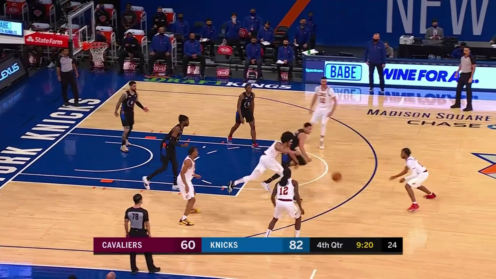 Garland Tries to Bring Cavs within Striking Distance