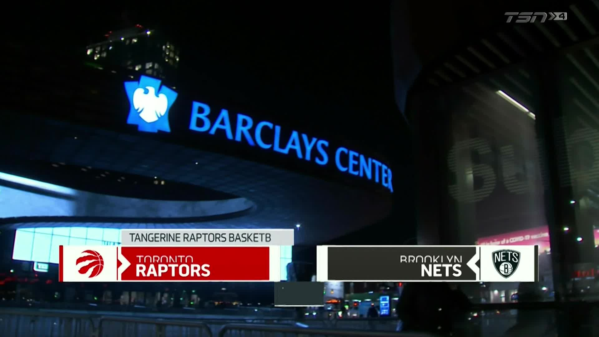 Tangerine Game Highlights: Raptors at Nets - February 5, 2021
