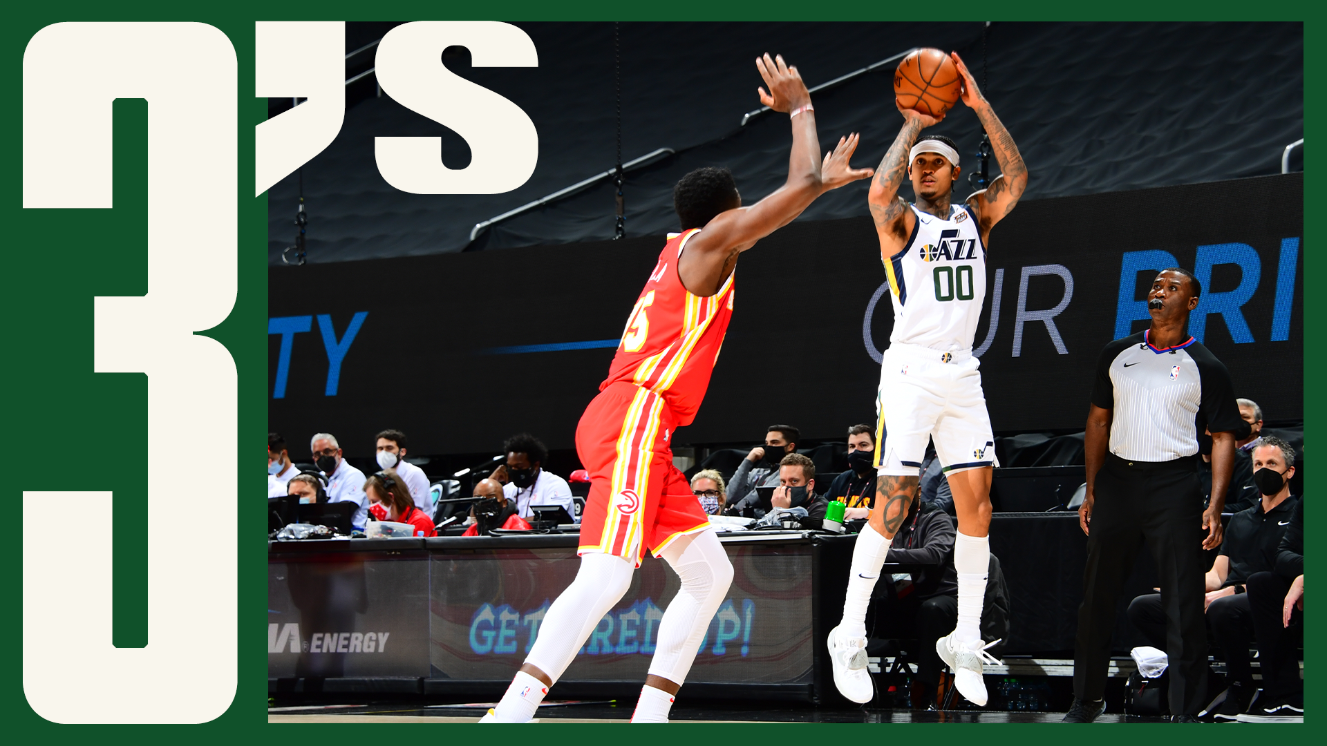 Jazz set FRANCHISE RECORD for 3s made | #ThreesOfTheWeek