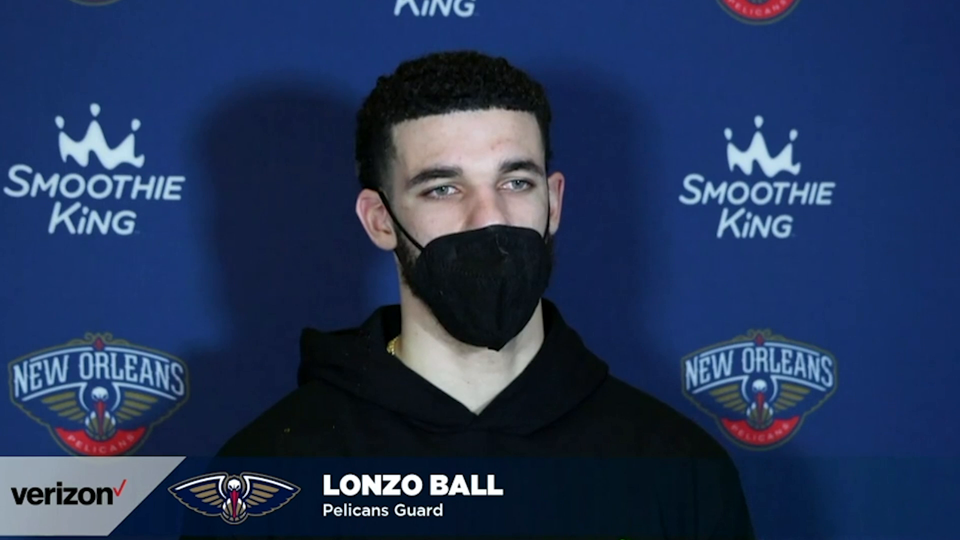 Pelicans-Grizzlies Postgame: Lonzo Ball 2-6-21