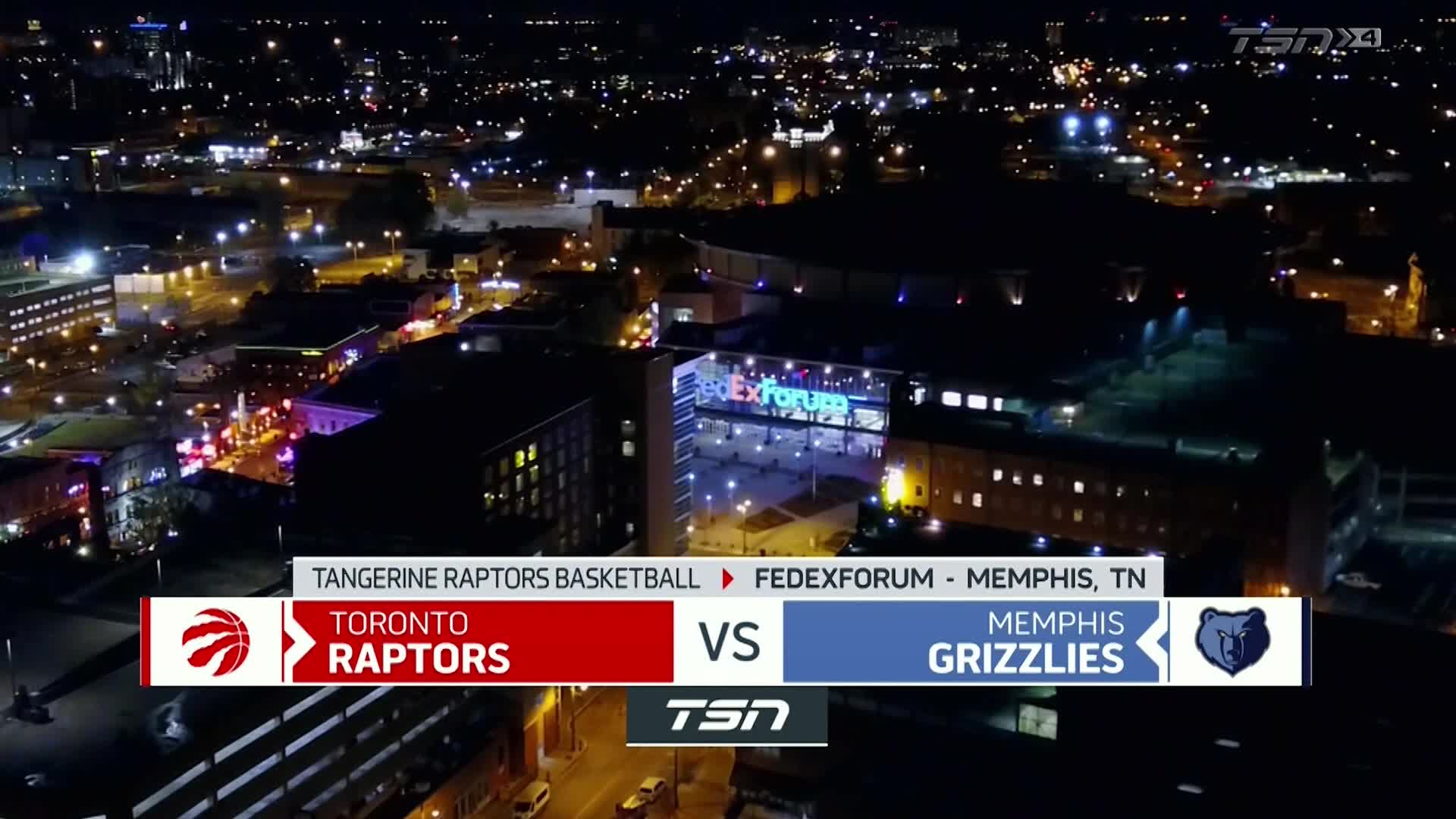 Tangerine Game Highlights: Raptors at Grizzlies  - February 8, 2021